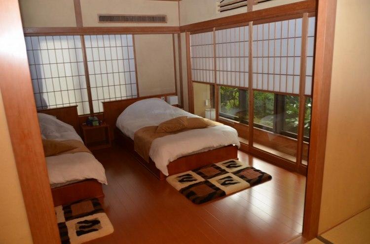 Chambre coucher japonaise 091438 la for Meuble chambre japonais