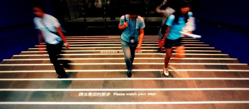 Ganbarimashô : allez hop, on courage tout le monde ! Photo tirée du site flickr.com.