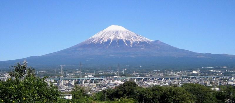 """Le mont Fuji, il est """"chôdo ii"""" !"""